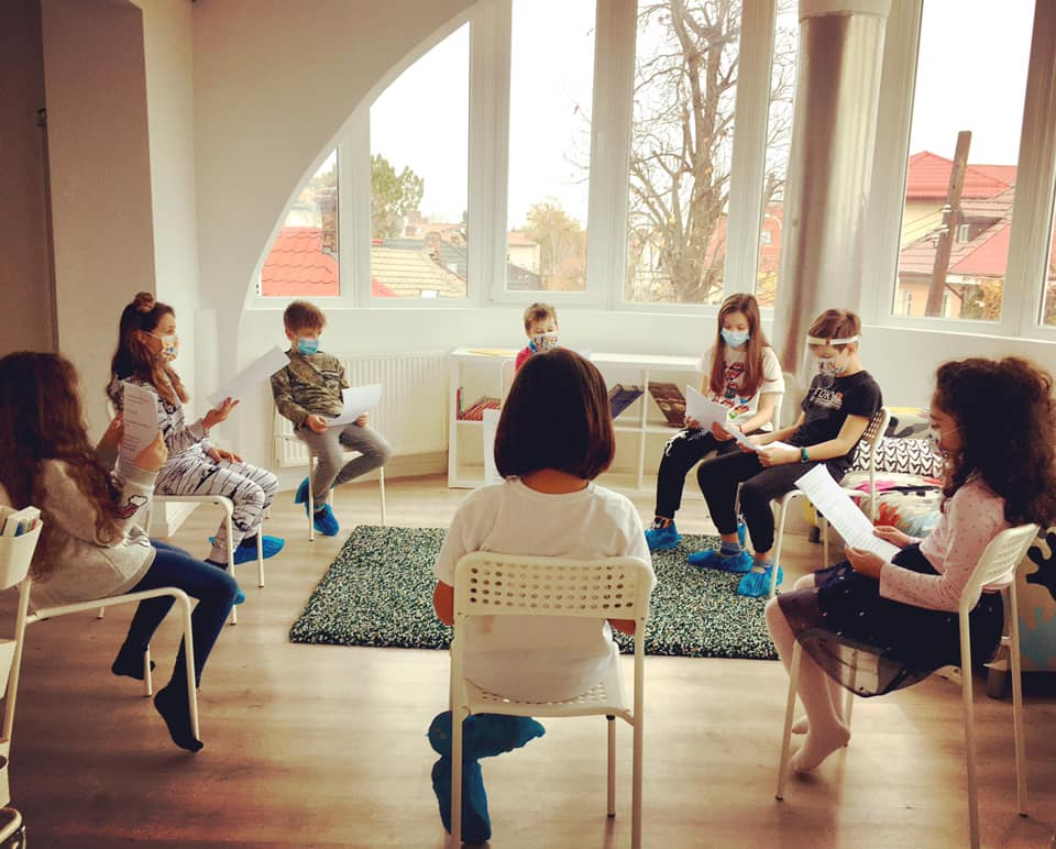 Cursuri actorie copii în București – modul nou